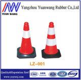 Barra plástica ajustável do cone do tráfego para a segurança de estrada