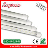 110lm/W T8 Tube 0.6m 10W LED Light, 5years Warranty
