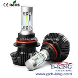 Farol brilhante super do diodo emissor de luz do carro de Fanless 4000lm 9007 a Philips 7g