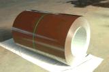 Colorare la lamiera di acciaio rivestita in bobina