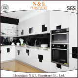 Module de cuisine blanc à haute brillance moderne de laque de forces de défense principale de N&L