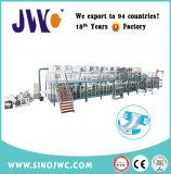 専門の完全なサーボ綿の大人のおむつ機械製造業者の速度200-300PCS/Min