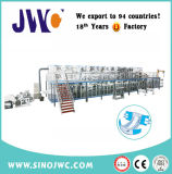 Velocidad adulta 200-300PCS/Min del fabricante de la máquina del pañal del algodón servo lleno profesional