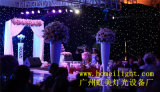 Wedding Party Eevnts Stage Backdropのための4つ* 6つのM Fireproof Twinkling LED Star Curtain