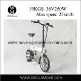 Modèle 2017 italien vélo électrique pliable/portatif de 14 pouces d'alimentation par batterie en Corée