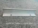 6063 personalizada El anodizado de aluminio de extrusión de perfil con el mecanizado