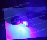 Diodo emissor de luz sob a luz impermeável ausente do couro cru da tampa (H52-6)