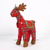 カスタムぬいぐるみのクリスマスのプラシ天のおもちゃのトナカイ
