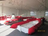 Matériau ouvert de Hypalon du bateau 520 de côte d'étage de Liya
