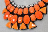 Encanto de la manera de cristal grueso traje de Gargantilla Collar