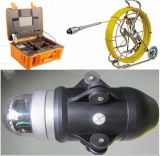 60mm鍋または傾きのカメラの120mのテストケーブルが付いている産業ビデオ下水管および管の点検カメラ