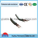 Cabo distribuidor de corrente liso isolado PVC de BVVB+E para edifícios com alta qualidade