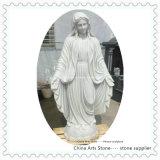 Чисто белая мраморный скульптура статуи Onxy для сада