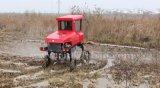 水田のために吹きかかるAidiのブランドのディーゼル機関機械