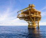 沖合いの石油プラットホームの係留のためのHertzはロープをかける
