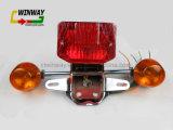 Luz traseira da motocicleta da peça da motocicleta Ww-7106 para Cm125