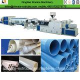 Filtro del receptor de papel de agua de PVC-U que rosca la línea de la protuberancia del tubo/que hace la máquina