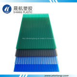 Cuatro colores helaron la hoja del material para techos del policarbonato (SH17-HTF41)