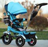 De nieuwe Three-Wheeled Fiets van Kinderen/Baby Dubbele Trike (okm-1258)