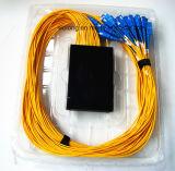 1X32 아BS 상자 Sc PC 눈 섬유 CATV 쪼개는 도구