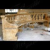 Banco di pietra di marmo della Tabella & del banco & banco del granito della Tabella & banco Mbt-355 dell'oro del deserto della Tabella