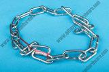 Parti marine del hardware che alzano la catena a maglia d'acciaio saldata del ferro