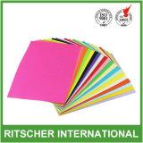 Papel de papel de la copiadora del papel de la fotocopia del color A4 de la alta calidad