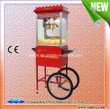 8 onças Automatic Electric antiquado Commercial Kettle Caramel Mobile Popcorn Machine Cart para Sale Price