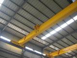 Workshop Godown Steel Structure Use를 위한 단 하나 Girder Overhead Crane