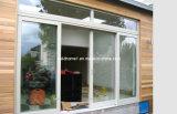Janelas e portas de alumínio elegantes de superfície lisa de toque