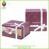 堅いFoldableギフトのボール紙の包装の菓子器
