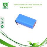 再充電可能な7.4ボルトのリチウムイオン電池のパック