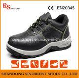 Sapatas de segurança de couro básicas com certificado Rh102 do Ce