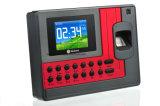 macchina grigia di presenza di tempo di colore di a-C111 Realand per la registrazione di tempo