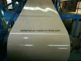 Produktion des weißen überzogenen Stahlringes