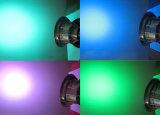 중단된 9개 와트 RGB LED 수중 빛