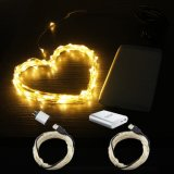 Luzes da corda do fio de cobre do USB