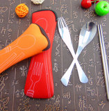 Set Plastique Gife Set de poisson Fork Spoon Knife Tableware