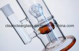 Conduite d'eau en verre colorée par vente en gros d'usine avec la bonne fonction