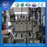 le bobine 132kv tre, scaricano il trasformatore di potere di regolazione di tensione