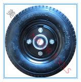10X3.50-4 pneumatisch RubberWiel met de Rand van het Aluminium voor Stapelaars