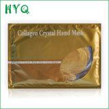Mitigação de nutrição do Moisturizer que Whitening a máscara de cristal da mão do colagénio da máscara do cuidado de pele da máscara