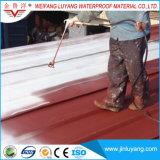 Покрытие одиночного компонентного полиуретана водоустойчивое для крыши здания