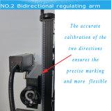 impressora de laser da fibra de 30W Ylpf-30qe para a tubulação plástica de PP/PVC/PE/HDPE, dos encaixes metal não