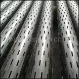 API N80 Slotted Liner J55 Later Cutting Slotted Steel Pipe