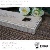 Hongdao a personnalisé la relation étroite bourrant le cadre en bois avec glisser le couvercle