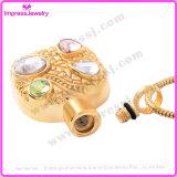 Colar memorável dos pendentes da jóia da cremação do ouro de Rosa com cristais Pingentes Atacado Lote