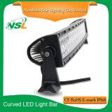 120W LED 차 LED 20 인치 LED 플러드 빛 구부려진 표시등 막대를 위한 결합 표시등 막대 LED 모는 표시등 막대 작동 빛