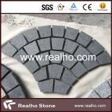 De Ventilator Gevormde Kei/Kubiek/de Kubus/de Straatsteen van uitstekende kwaliteit van het Graniet voor Oprijlaan, Gang