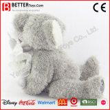 Mère molle de koala de peluche avec Joey sur le jouet arrière de koala de peluche